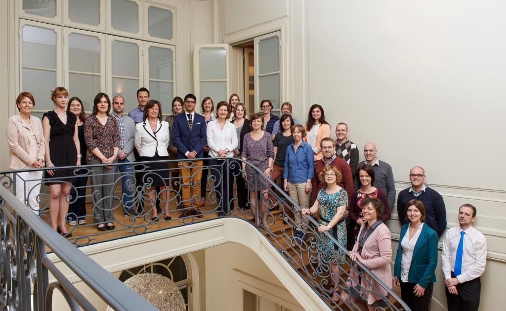 2015 Groepsfoto medewerkers OVB